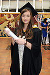 With Compliments,  25/8/2015  Attending the University of Limerick Conferrings was Maria Cuddihy, Tullaroan, Kilkenny, who was conferred with a BA in Economics and Sociology.<br /> Pic: Gareth Williams / Press 22