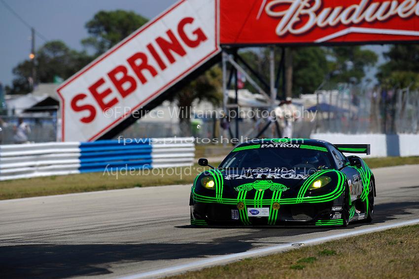 #01 (GT2) Extreme Speed Motorsports Ferrari 430 GT, Scott Sharp, J. van Overbeek & D. Farnbacher
