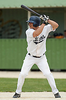 21 May 2009: Yann Dal Zotto of Savigny is seen at bat during the 2009 challenge de France, a tournament with the best French baseball teams - all eight elite league clubs - to determine a spot in the European Cup next year, at Montpellier, France.