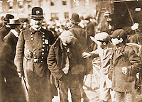Historical Photo:  Policeman.  Brown Brothers Stock Photos,New York, undated.  Schoener, p. 99.  Reference only.