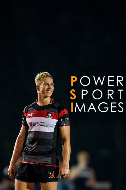 Abacus Kowloon vs Societe Generale Valley during the HKRFU Premiership League 2014 at the Kings Park on 22 November 2014 in Hong Kong, China. Photo by Aitor Alcalde / Power Sport Images