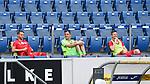 Torwart Rafal Gikiewicz (Union Berlin) auf der Auswechselbank.<br /> <br /> Sport: Fussball: 1. Bundesliga: Saison 19/20: 33. Spieltag: TSG 1899 Hoffenheim - 1. FC Union Berlin, 20.06.2020<br /> <br /> Foto: Markus Gilliar/GES/POOL/PIX-Sportfotos<br /> <br /> Foto © PIX-Sportfotos *** Foto ist honorarpflichtig! *** Auf Anfrage in hoeherer Qualitaet/Aufloesung. Belegexemplar erbeten. Veroeffentlichung ausschliesslich fuer journalistisch-publizistische Zwecke. For editorial use only. DFL regulations prohibit any use of photographs as image sequences and/or quasi-video.