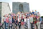 French Visitors: Residents of Pannissiers, France which is twinned with Listowel pictured at Listowel Castle on Friday evening last. Included in the photo are the wife of the Mayour of Pannissiers, Mdame Yolande Mayoud, Jennie Gilles, President of the twinning committee & Micahel Guerin, chairman of the Listowel committee.
