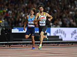 Rico FREIMUTH (GER) in the mens decathlon 400m. IAAF world athletics championships. London Olympic stadium. Queen Elizabeth Olympic park. Stratford. London. UK. 11/08/2017. ~ MANDATORY CREDIT Garry Bowden/SIPPA - NO UNAUTHORISED USE - +44 7837 394578
