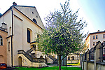 Izaak Synagoga (największa synagoga w Krakowie, 1640-44), Kazimierz, Krak&oacute;w, Polska.<br /> Izaak's Synagogue (Cracow's largest synagogue, 1640-44), Kazimierz, Cracow, Poland.