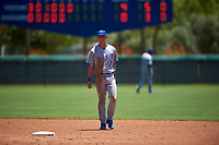 AZL Royals shortstop Bobby Witt Jr. (17) during an Arizona League game against the AZL Dodgers Lasorda on July 4, 2019 at Camelback Ranch in Glendale, Arizona. The AZL Royals defeated the AZL Dodgers Lasorda 4-1. (Zachary Lucy/Four Seam Images)