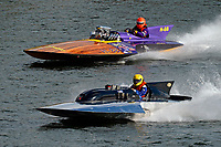 "Dean Berry, H-88 ""Miss Mahogany"" (Built by owner from Ron Jones plans), Scott Kirshner, F-266 ""Miss Supersonic II"" , 266 class hydroplane"