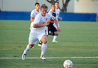 Florida International University men's soccer player Anthony Hobbs (16) plays against Nova University on August 26, 2011 at Miami, Florida. FIU won the game 2-0. .