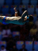 YANG Jian CHN CHINA<br /> Gwangju South Korea 19/07/2019<br /> Diving Men's 10m Platform Semifinal<br /> 18th FINA World Aquatics Championships<br /> Nambu University Aquatics Center <br /> Photo © Andrea Staccioli / Deepbluemedia / Insidefoto