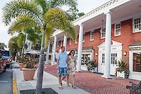 Fine dining and shopping along Third Street South, Naples, Florida, USA, Aug. 22, 2012. Photo by Debi Pittman Wilkey
