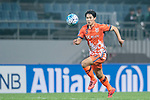 Jeju United Forward Jin Seonguk in action during the AFC Champions League 2017 Group H match Between Jeju United FC (KOR) vs Gamba Osaka (JPN) at the Jeju World Cup Stadium on 09 May 2017 in Jeju, South Korea. Photo by Marcio Rodrigo Machado / Power Sport Images