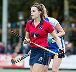 UTRECHT - Pam van Asperen (Laren)   tijdens de hockey hoofdklasse competitiewedstrijd dames:  Kampong-Laren . COPYRIGHT KOEN SUYK