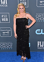 SANTA MONICA, USA. January 12, 2020: Megan Hilty at the 25th Annual Critics' Choice Awards at the Barker Hangar, Santa Monica.<br /> Picture: Paul Smith/Featureflash