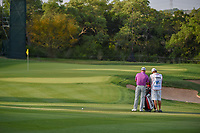 Graeme McDowell (NIR) looks over his approach shot on 11 during day 2 of the Valero Texas Open, at the TPC San Antonio Oaks Course, San Antonio, Texas, USA. 4/5/2019.<br /> Picture: Golffile | Ken Murray<br /> <br /> <br /> All photo usage must carry mandatory copyright credit (&copy; Golffile | Ken Murray)