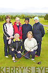 Killarney who played Muscerry in the ILGU Minor Cup in Killorglin on Sunday front l-r: Noreen Sheahan, Breda Duggan. Back row: Kay O'Connor, Angela Kelleher, Claire Breen and Patsy Hanley.