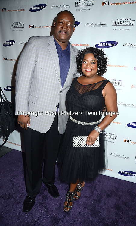 Sherri Shepherd and husband Lamar Sally attend  the  tribute to Sherri Shepherd for her commitment to YAI on September 12, 2013 at Clyde Frazier's Wine and Dine in New York City. Sherri is the spokeswoman for YAI, which raises awareness and support for individuals with disabilities.