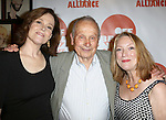 Sigourney Weaver, Playwright A. R. Gurney and Kristine Nielsen  attending The 3rd Annual Off Broadway Alliance Awards Reception at Sardi's Restaurant in New York City on June 18, 2013