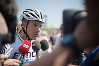 multi-interviewed Philippe Gilbert (BEL)<br /> <br /> Tour de France 2013<br /> stage 16: Vaison-la-Romaine to Gap, 168km