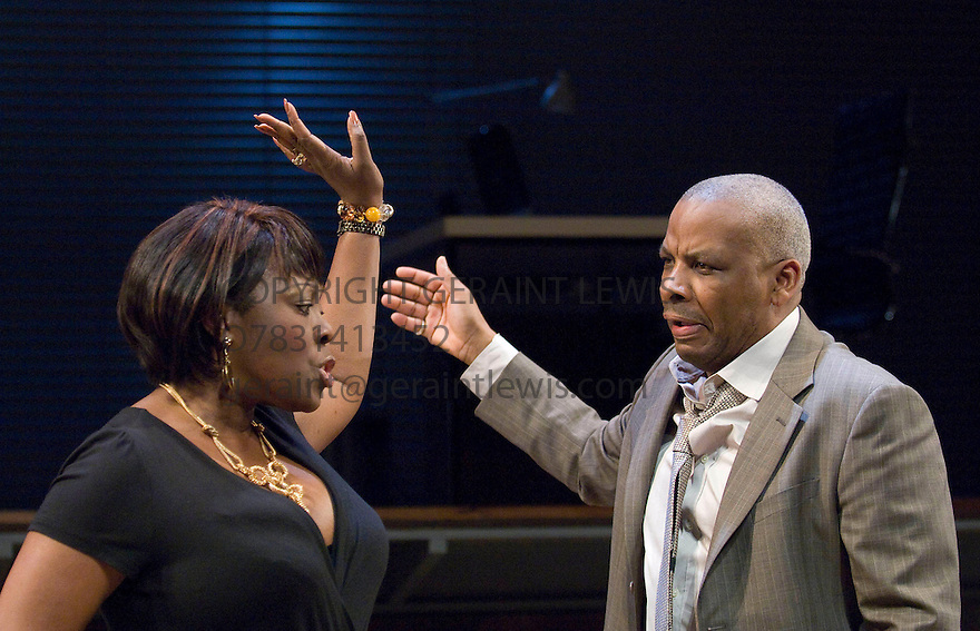 Statement of Regret by Kwame Kwei-Armah, Directed by Jeremy Herrin.With Ellen Thomas as Lola MacKenzie,Don Warrington as Kwaku MacKenzie. Opens at CottesloeTheatre on 14/11/07 . CREDIT Geraint Lewis