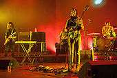 Tame Impala - L-R: Dominic Simper, Cam Avery, Kevin Parker, Julien Barbagallo  - performing live at The Hammersmith Apollo, London UK - 25 June 2013.   Photo credit: Justin Ng/Music Pics Ltd/IconicPix