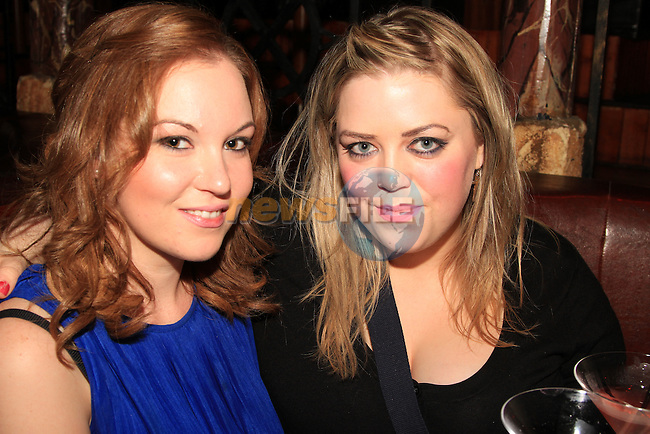 Emily Whaley and Marcia Neenan in Shooters..Picture: Shane Maguire / www.newsfile.ie.