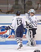 Joe Zappala, Josh Gartner - Colgate University defeated Yale University 6-2 at Ingalls Rink in New Haven, CT on November 5, 2005.