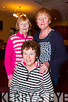 Pictured at a Charity Tea Dance in Fr. Casey's GAA Clubhouse in Abbeyfeale on Sunday were Front: Joan O'Keeffe Abbeyfeale.  Back row L-R: Bridie Collins and Mary Morrissey, Abbeyfeale.
