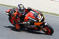 15.06.2013 Barcelona, Spain. Aperol  Catalonia Grand Prix. Picture show Colin Edwars ridding Kawasaki during MotoGP qualifyng at Circuit de Catalunya