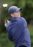 22 May, 2010:   Illinois Luke Guthrie drives his ball off tee four during day three of the NCAA West Regional First Round at Gold Mountain Golf Course in Bremerton, Washington.