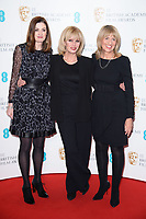 Amanda Barry, Joanna Lumley and Jane Lush<br /> at the photocall for BAFTA Film Awards 2018 nominations announcement, London<br /> <br /> <br /> &copy;Ash Knotek  D3367  09/01/2018
