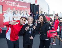 Phoenix, AZ - December 13, 2015: USWNT FanHQ Sponsors