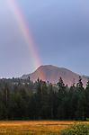 Rainbow over the Nipple, Faith Valley, Alpine County, California