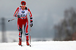 Heidi Weng in action during the Women 5 km Classic Individual in Val Di Fiemme<br /> <br /> &copy; Pierre Teyssot