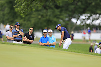 Charl Schwartzel (RSA) chips onto the 2nd green during Sunday's Final Round of the WGC Bridgestone Invitational 2017 held at Firestone Country Club, Akron, USA. 6th August 2017.<br /> Picture: Eoin Clarke | Golffile<br /> <br /> <br /> All photos usage must carry mandatory copyright credit (&copy; Golffile | Eoin Clarke)