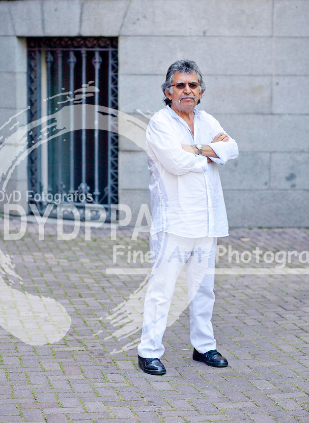 """Angel Parra, Son of the Chilean singer Violeta Parra presents America's house in Madrid, Spain, the film """"Violet went to heaven"""" (Violeta se fue a los cielos) based on the life of his mother. July 1, 2013 (C) Nacho Lopez / DyD Fotografos"""