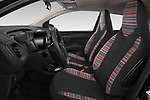 Front seat view of a 2018 Citroen C1 Feel 5 Door Hatchback front seat car photos