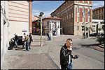 SETTIMO TORINESE - La rotonda tra via Piave e via Ariosto