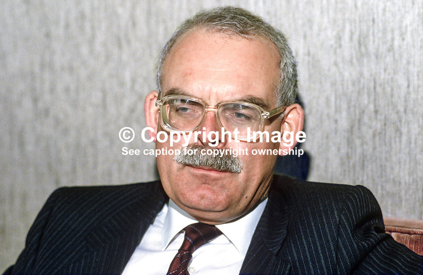 Michael Bishop, chairman, British Midland Airways Ltd, 19860403MB..Copyright Image from Victor Patterson, 54 Dorchester Park, Belfast, UK, BT9 6RJ..Tel: +44 28 9066 1296.Mob: +44 7802 353836.Voicemail +44 20 8816 7153.Skype: victorpattersonbelfast.Email: victorpatterson@mac.com.Email: victorpatterson@ireland.com (back-up)..IMPORTANT: If you wish to use this image or any other of my images please go to www.victorpatterson.com and click on the Terms & Conditions. Then contact me by email or phone with the reference number(s) of the image(s) concerned.