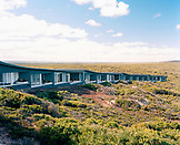 AUSTRALIA, Kangaroo Island, Hanson Bay, rooms at the Southern Ocean Lodge hotel and spa