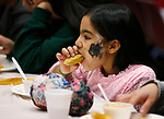 Samantha Lara, 10, enjoys lunch at the La Posada Celebration at Western Nevada College, in Carson City, Nev., on Saturday, Dec. 15, 2018. <br /> Photo by Cathleen Allison/Nevada Momentum