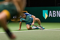 Rotterdam, The Netherlands, 15 Februari 2019, ABNAMRO World Tennis Tournament, Ahoy, quarter finals, doubles, Matwe Middelkoop (NED),  <br />