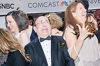 "People pose for pictures in the 360 Glam Cam at the MSNBC After Party at the United States Institute of Peace in Washington, DC. The resulting pictures provide a 360 degree rotating view of the subjects frozen in time, similar to the ""bullet time"" effect in The Matrix. The party followed the annual White House Correspondents Association Dinner on Saturday, April 30, 2016. The party continued until about 3 AM on Sunday, May 1, 2016."