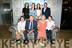 Irene & Seam Commane, Knockmoyle Tralee, celebrating their 60th wedding anniversary with family and friends at the Rose Hotel on Saturday. Pictured front lr Laura Commane, Cian Commane, Kayla Commane, middle lr Aidan Commane, Sandra Curtin, Sean Commane, Irene Commane, Carol Dooley.Jim Dooley Back lr Fergal Dooley, Ciara Commane, Julie Doyle, Mark Commane, Paul Commane, Sinead Commane, Garry Commane, Ailish Commane