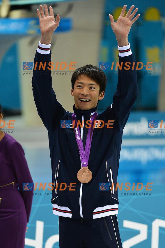 Ryosuke Irie Japan Bronze Medal Men's 100m Backstroke.London 30/7/2012 Aquatics Center .London 2012 Olympic games - Olimpiadi Londra 2012.Swimming - Nuoto.Foto Andrea Staccioli Insidefoto