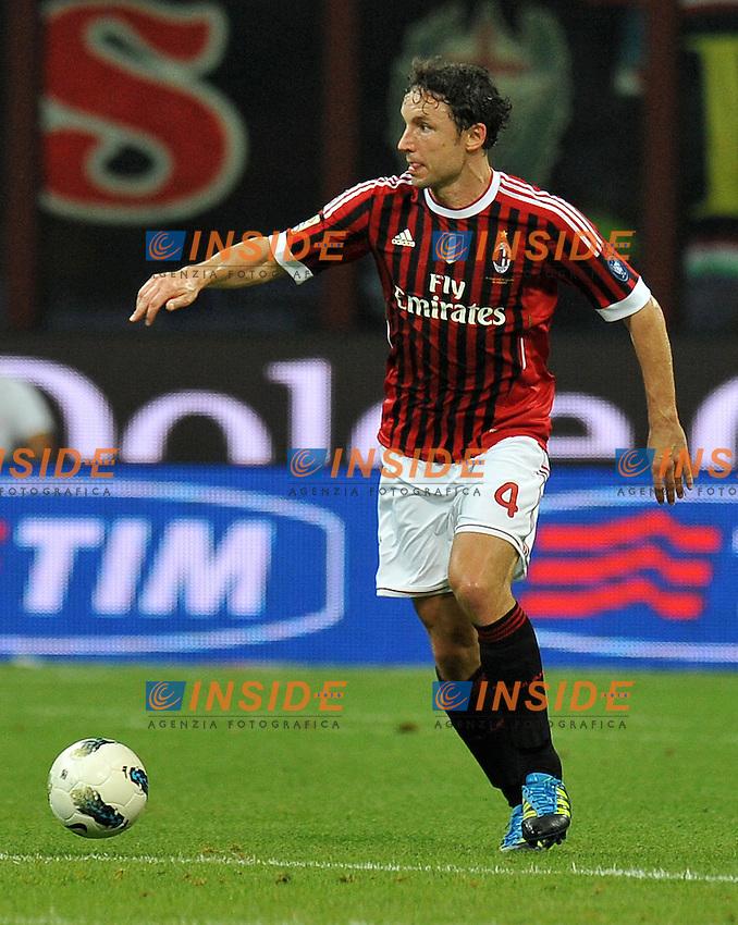 "Mark VAN BOMMEL (Milan).Milano 21/9/2011 Stadio ""Giuseppe Meazza"".Serie A 2011/2012.Football Calcio Milan Vs Udinese.Foto Insidefoto Alessandro Sabattini."