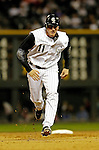 8 September 2006: Brad Hawpe, outfielder for the Colorado Rockies, in action against the Washington Nationals. The Rockies defeated the Nationals 11-8 at Coors Field in Denver, Colorado...Mandatory Photo Credit: Ed Wolfstein.