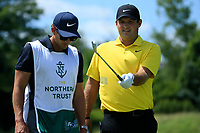 Patrick Reed (USA) during the third round of the Northern Trust, played at Liberty National Golf Club, Jersey City, New Jersey, USA 10/08/2019<br /> Picture: Golffile | Michael Cohen<br /> <br /> All photo usage must carry mandatory copyright credit (© Golffile | Phil Inglis)