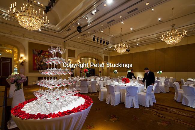 Park Hyatt Saigon's Wedding set-up