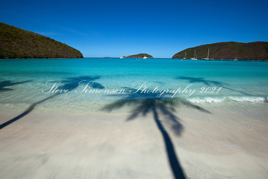 Maho Bay Beach<br /> Virgin Islands National Park<br /> St. John United States Virgin Islands