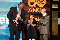 Fernando Romay during the 80th Aniversary of the National Basketball Team at Melia Castilla Hotel, Spain, September 01, 2015. <br /> (ALTERPHOTOS/BorjaB.Hojas) / NortePhoto.Com